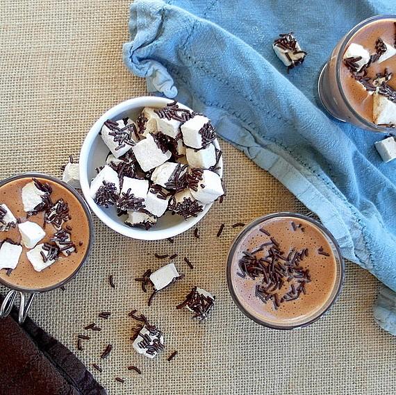 Hot Chocolate Custard 4