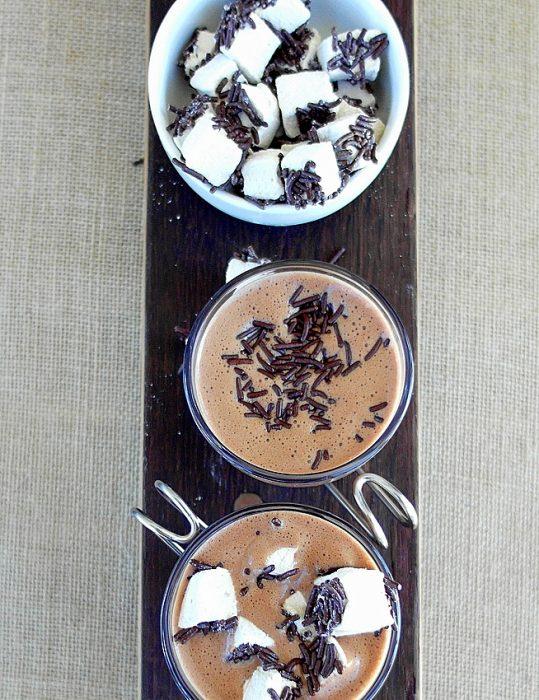 Hot Chocolate Custard 7