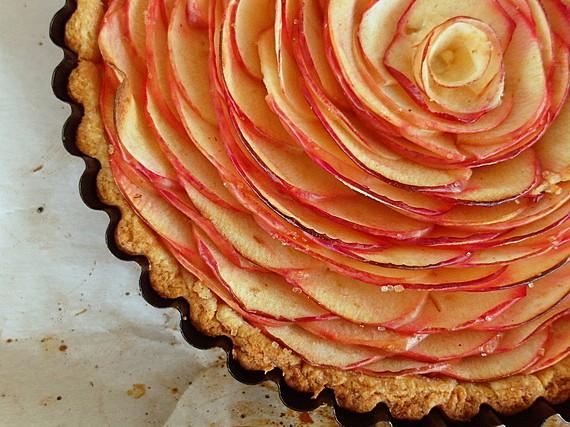 chai apple cheesecake tart 2