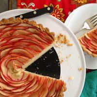 Chai Apple Cheesecake Tart | Paderno Giveaway