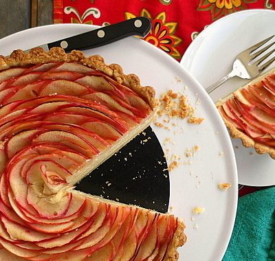 Chai Apple Cheesecake Tart | Paderno Giveaway