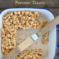 Coffee Maple Bacon Popcorn Treats (Breakfast Popcorn Treats)