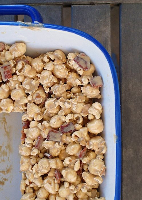 coffee maple bacon popcorn treats 6