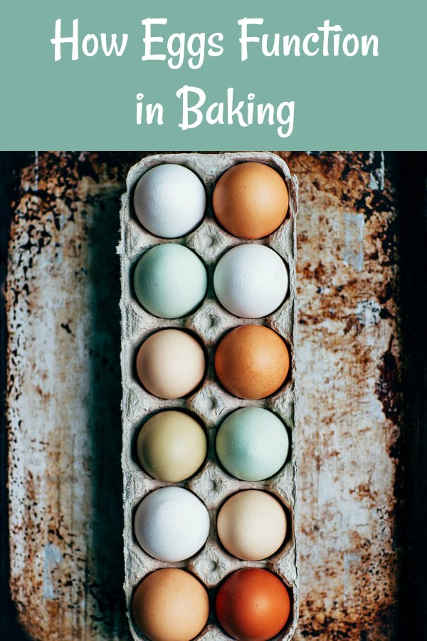 Understanding ingredient function will make you a better cook and baker. Eggs play an important role in baking and have many jobs. Come find out all about whole eggs, egg yolks, and egg whites. #bakingingredients #eggs | pastrychefonline.com
