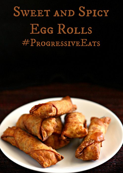 sweet and spicy pork egg rolls 7