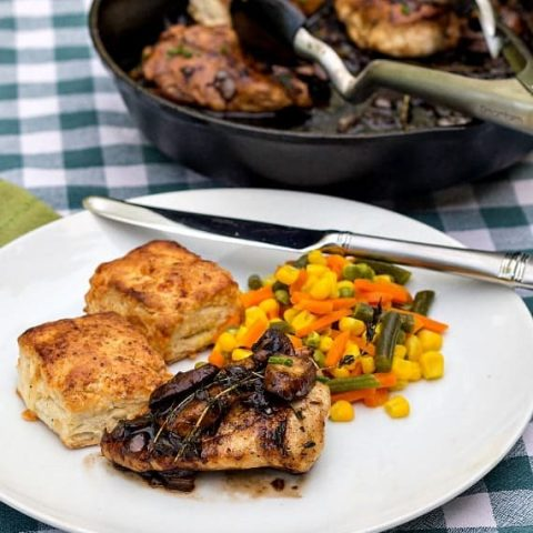 Chicken with Mushrooms and Thyme