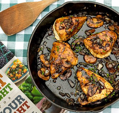 Chicken with Mushrooms and Thyme | Eat Right for Your Sight