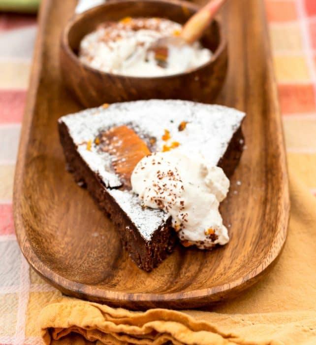 chocolate orange truffle cake 5a