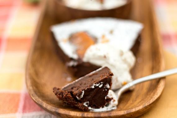 gluten-free chocolate orange truffle cake 7a
