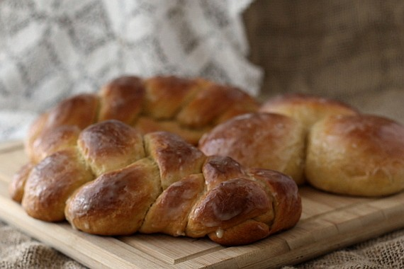 Cornish Saffron Easter Bread | Communion Bread and #BreadBakers