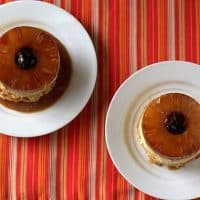 Gluten-Free Mini Pineapple Upside Down Cheesecakes
