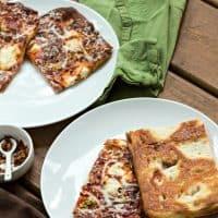 Vodka Sauce Grandma Pizza Recipe