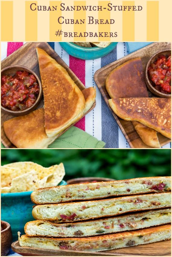 cuban sandwich stuffed cuban bread