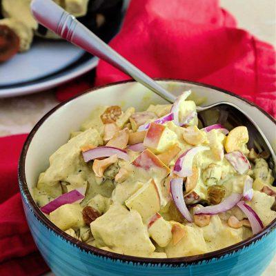 Coronation Chicken Salad (Curried Chicken Salad)