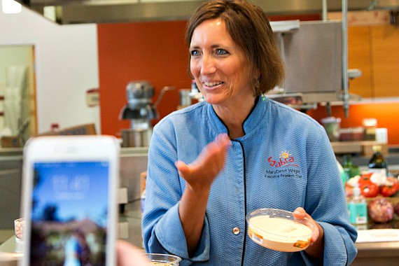 Executive Chef, MaryDawn Wright | Sabra Tastemaker Factory Trip, 2015, | pastrychefonline.com
