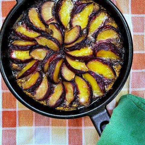Mother Leavee's German Plum Cake (Plum Kuchen)