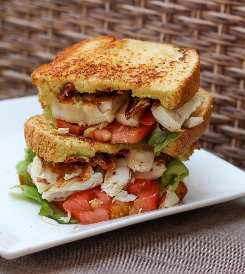 flavor pairing example: a BLT(C) sandwich