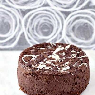 The Best Double Chocolate Cheesecake | Pressure Cooker or Oven