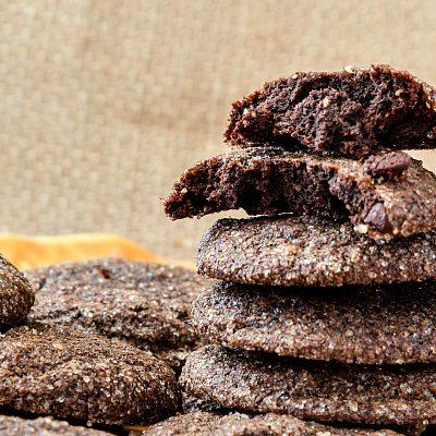 Chocolate Pecan Cookies | Little Bites of Chocolate Heaven