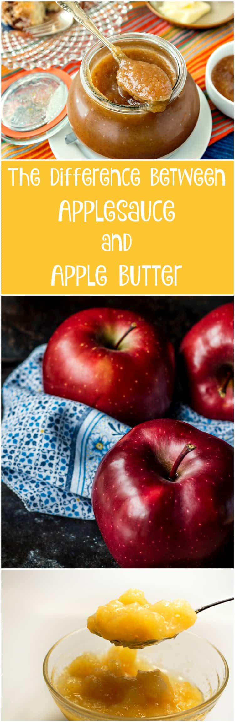 This post will tell you everything you want to know about the difference between applesauce and apple butter. Plus there's a lovely recipe for Hibiscus Lavender Apple Butter and links to even more recipes. Enjoy! | pastrychefonline,com