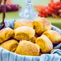 Soft, Buttery Pumpkin Dinner Rolls