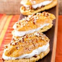 Pecan Pie Eclairs from Simply Sweet Dream Puffs