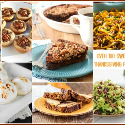 Over 100 Sweet and Savory Thanksgiving Pecan Recipes Roundup