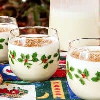 Orange Spiced Eggnog Recipe