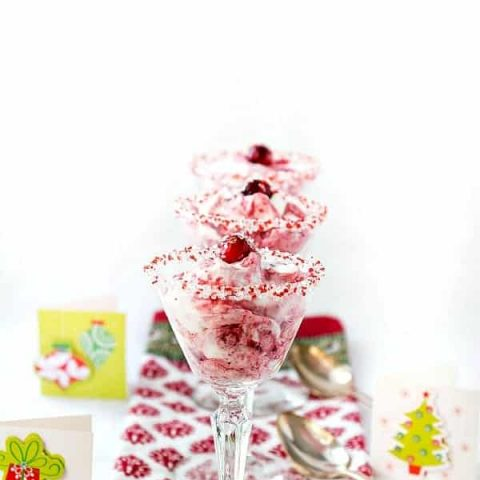Cranberry Fool with Grand Marnier Whipped Cream