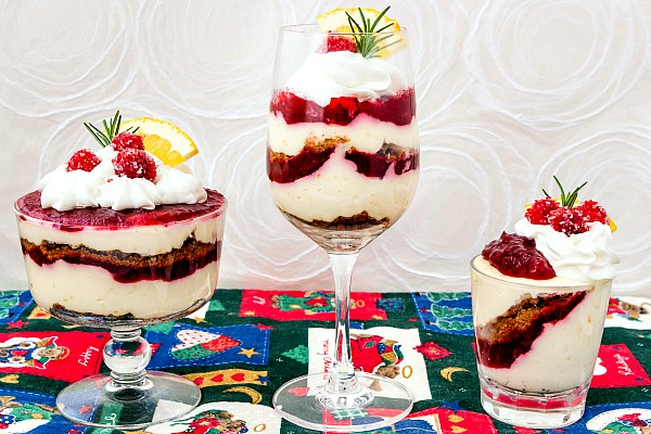 These easy, no bake orange cranberry cheesecake parfaits are festive and delicious, and they'll also help you use up any leftover cranberry sauce you may have! An easy yet elegant holiday dessert recipe to have on hand. | pastrychefonline.com