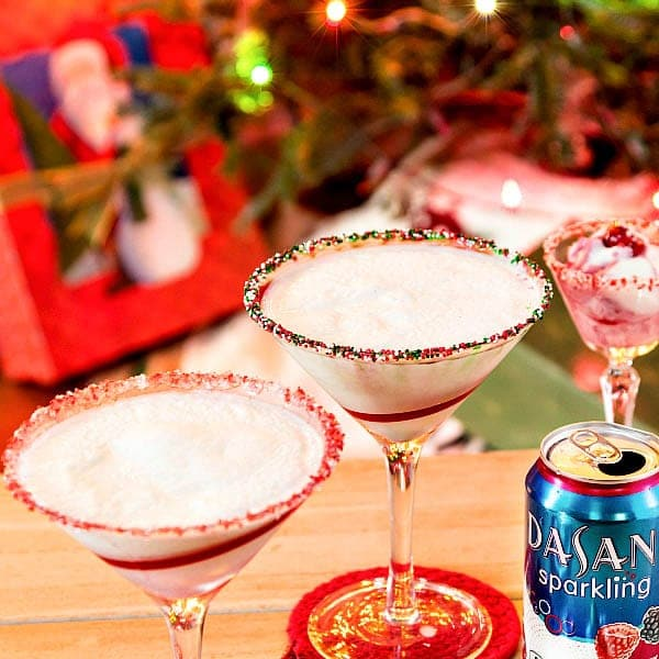 I made this festive and sparkling Berries on the Cake Cocktail recipe for Dasani. I hope it will add to your enjoyment of your #SparklingHolidays! #sponsored
