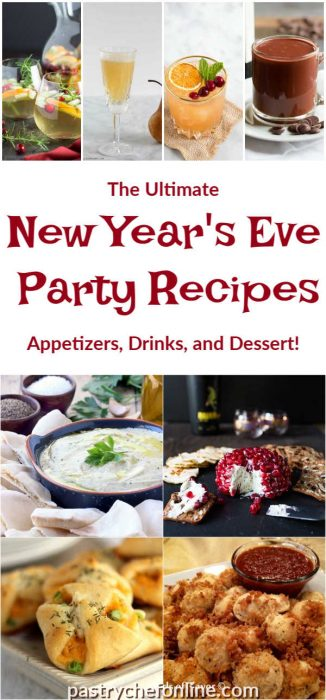 images of new year's eve party recipes
