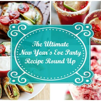 New Year's Eve Party Recipes Round Up: Appetizers, Cocktails and Desserts
