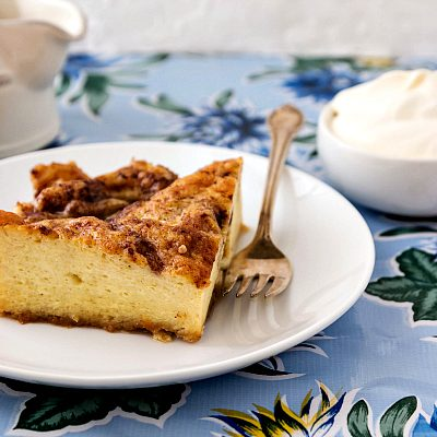 Moravian Sugar Cake Baked French Toast