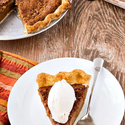 Cinnamon Sorghum Custard Pie | #tbtfood