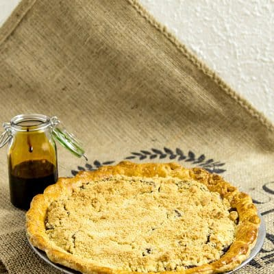 Classic Shoo Fly Pie or How to Use Leftover Molasses