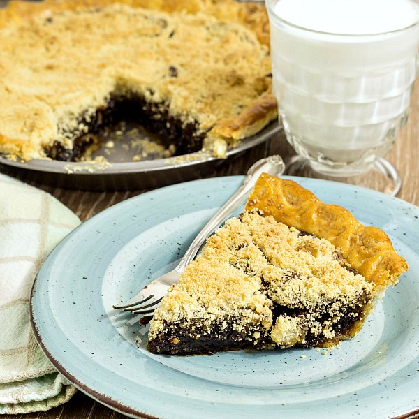 Classic Shoo Fly Pie is pretty much a perfect pie. Made using only pantry staples, if you've never made one--or pie in general--this is a great place to start. It truly is a classic, and everyone should try it. Superb! | pastrychefonline.com