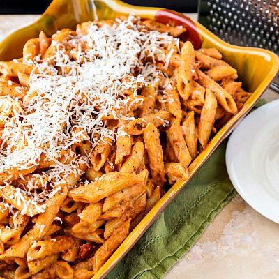 Easy Creamy Marinara Sauce with Barilla® Marinara and Organic Pasta
