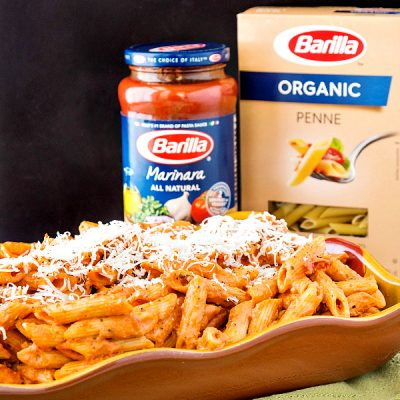 Easy Creamy Vodka Sauce: A Shortcut Restaurant-Style Pasta Sauce