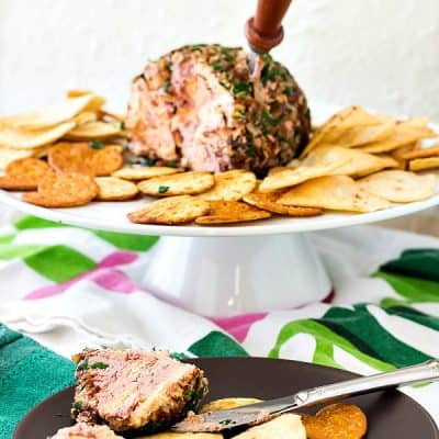 Port Wine Cheese Ball for the Holidays (or Whenever a Cheese Ball is Called For!)