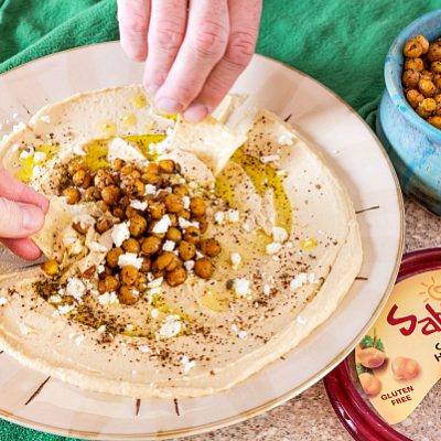 Easy Delicious Hummus Toppings with Sabra