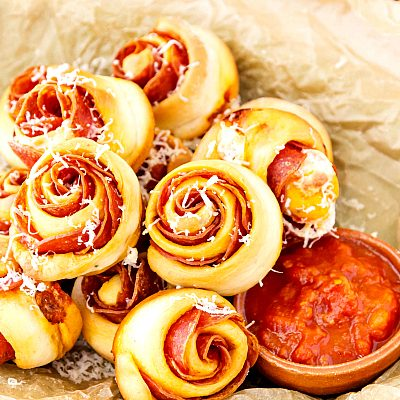 Spicy Pepperoni Pinwheels Recipe | Tasty Little Appetizers