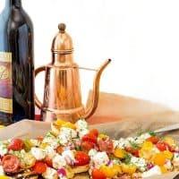 Dill Caprese Bruschetta | Progressive Eats