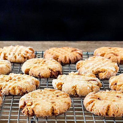 The Best Triple Peanut Butter Cookies in the World