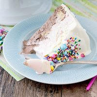 Neapolitan No-Churn Ice Cream Cake