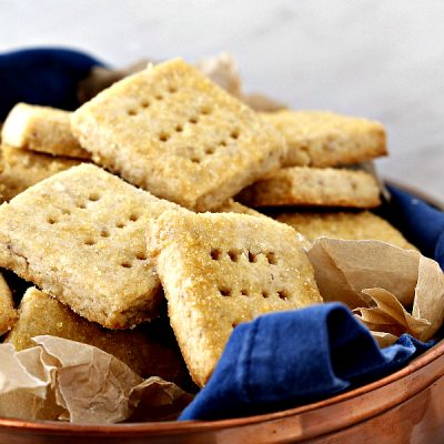 Caramel Walnut Shortbread Cookies   Made with Toasted Sugar