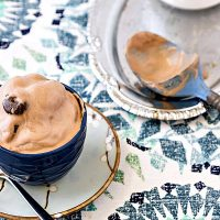No-Churn Junior Mint Chocolate Ice Cream