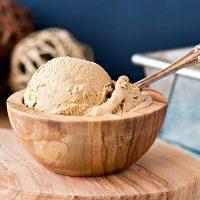 Organic Caramel Vanilla Ice Cream