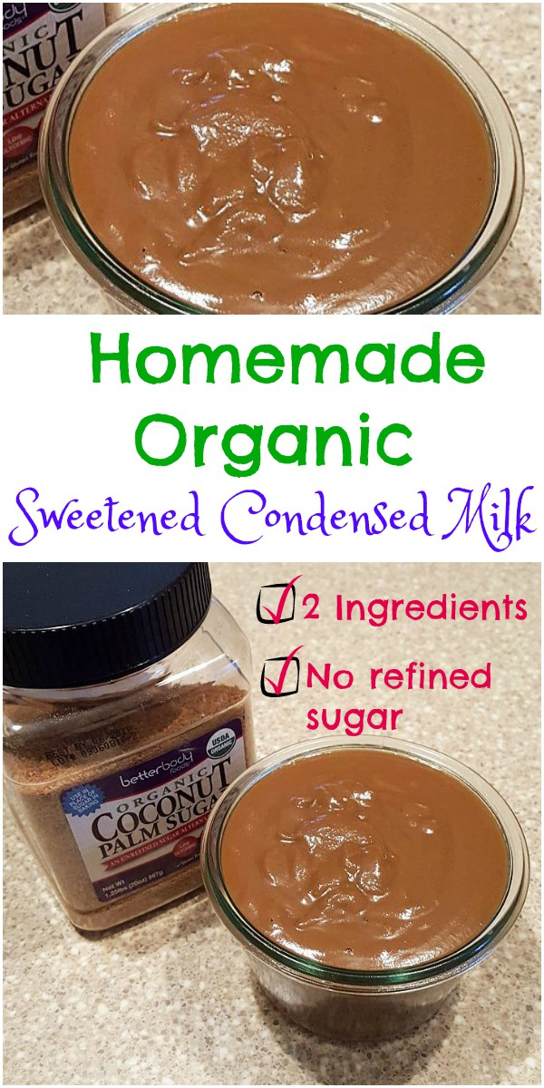 Two-Ingredient homemade organic sweetened condensed milk is easy to make, contains no refined sugar, and has a lovely deep caramel color and flavor. Use it in your coffee, as a cake filling or in no-churn ice cream. | pastrychefonline.com