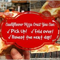Cauliflower Pizza You Can Pick Up